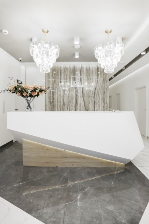 klinika medycyny estetycznej – recepcja